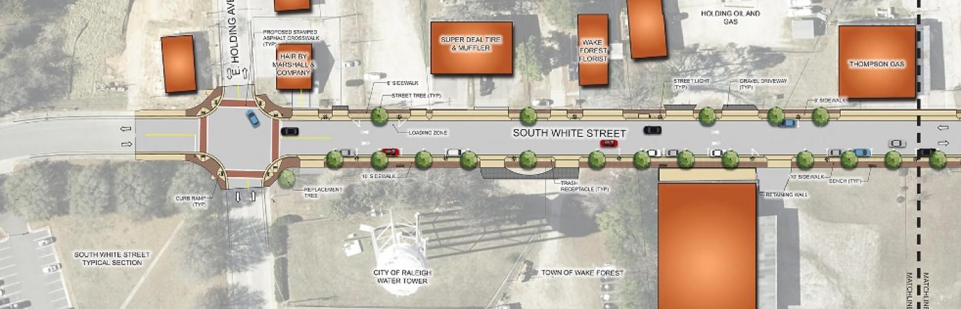 South White Street Schematic Design