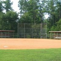 Baseball field at Ailey Young Park.