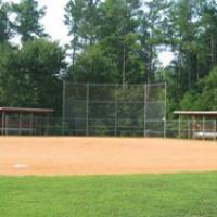Baseball field at Ailey Young Park.
