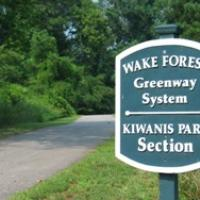 Wake Forest greenway system - Kiwanis Park Section