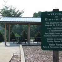 Welcome to Kiwanis Park Sign