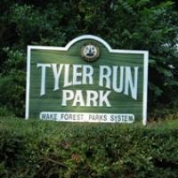 Tyler Run Park sign