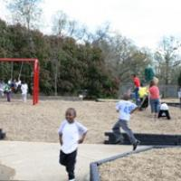 Kids Playing at the Park
