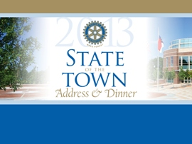 state of the town address and dinner