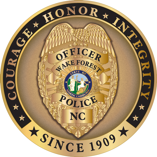 Wake Forest Police Logo