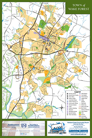 Wake Forest Map Wake Forest Map | Town of Wake Forest, NC