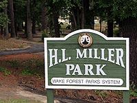 HL Miller Park Sign