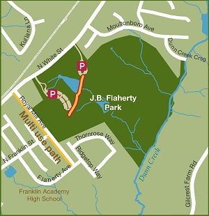 Flaherty Greenway Map