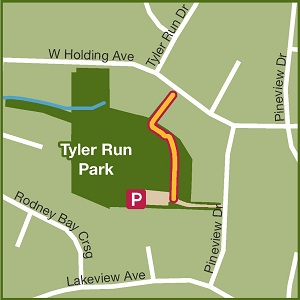 Tyler Run Greenway Map