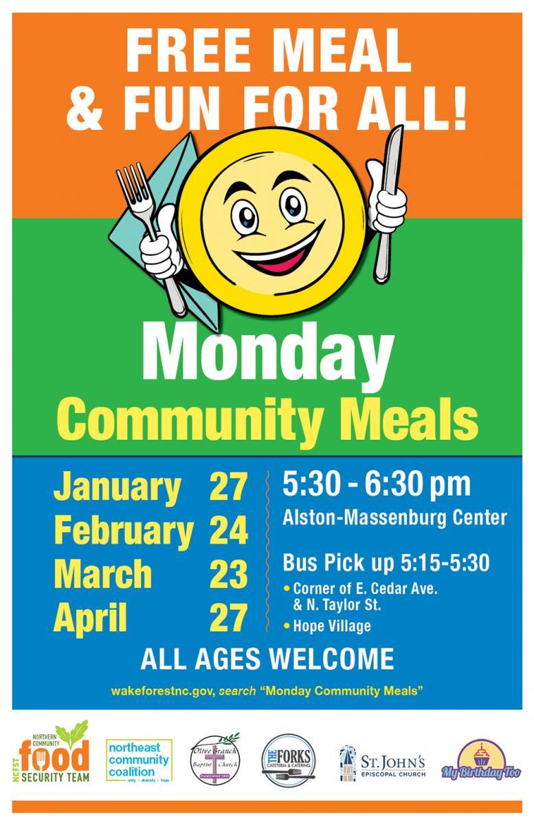 Monday Community Meals