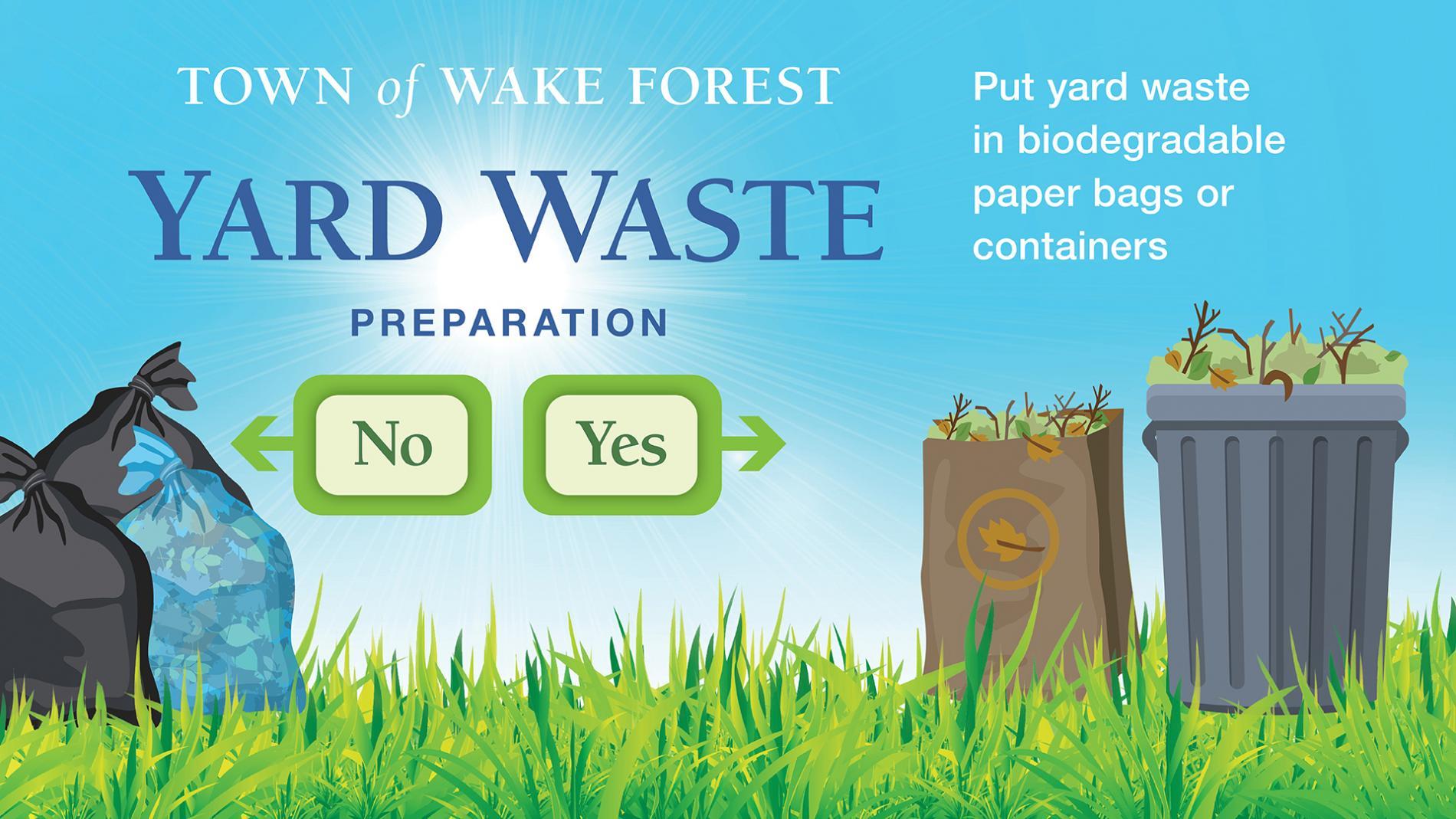 Yard Waste Prep