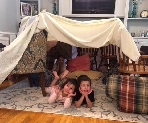 Build a Fort Day!  #StayStrongWF Spirit Week