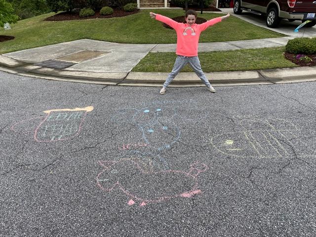 Chalk your Walk Week!  #StayStrongWF