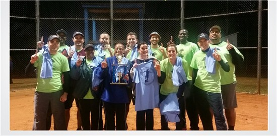 2014 Kickball Tournament Champions - Town of WF