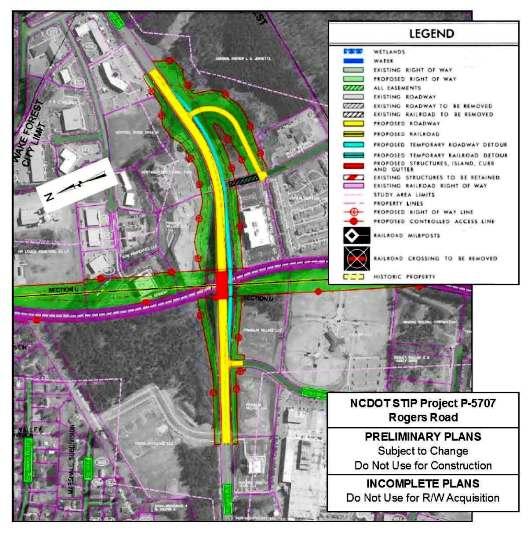 Grade Separation Projects Along CSX S-Line Railroad | Town