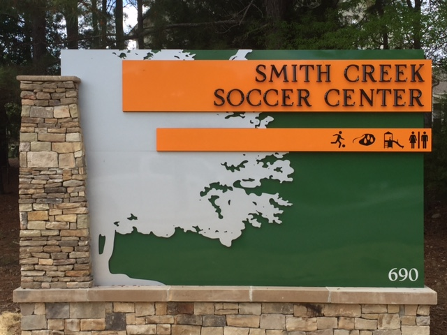 Smith Creek Soccer Center Entrance