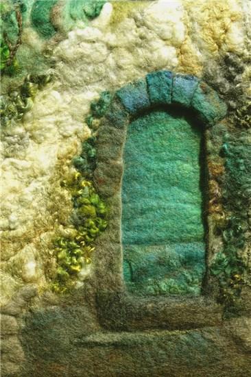 St. Tropez Doorway, by Sharron Parker (Flaherty Park Community Center, 1226 N. White St.)