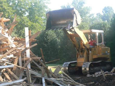 Demolition of Home