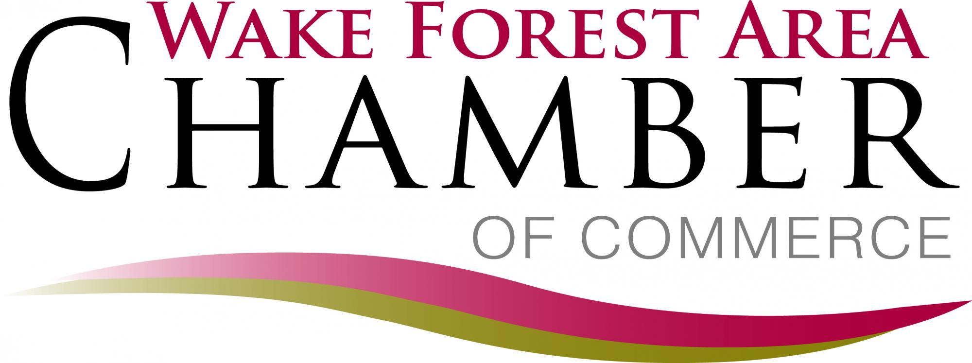 Wake Forest Chamber Logo